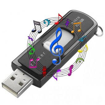 Как перемешать музыку в папке на флешке