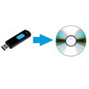 Как сделать из загрузочной флешки загрузочный диск