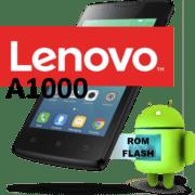 Прошивка Lenovo A1000