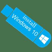 Создание установочной флешки с Windows 10
