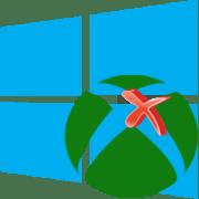 Удаление Xbox