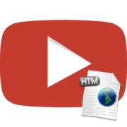 как вставить видео на сайт с ютуба
