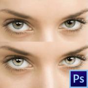 Как выделить глаза в фотошопе