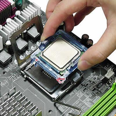 Снятие процессора