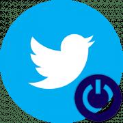 Как выйти из Твиттера
