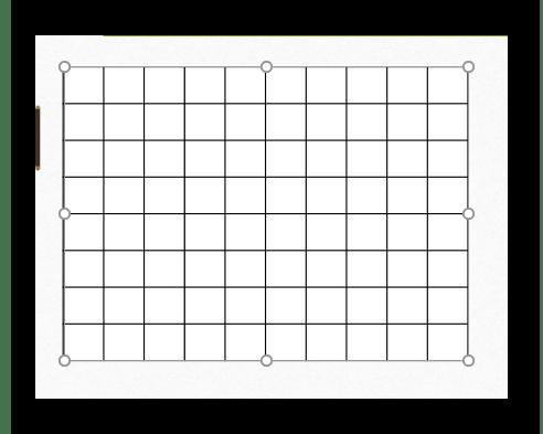 Прозрачная таблица в PowerPoint