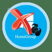 Удаление домашней группы