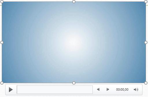 Вставленное видео в PowerPoint