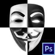 Как инвертировать маску в фотошопе