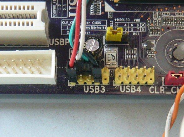 Слот под USB