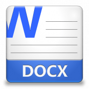 Формат DOCX