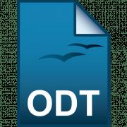Формат ODT