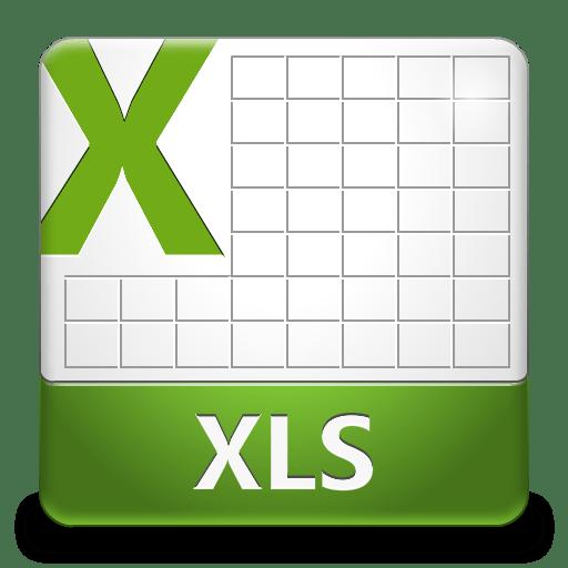 Формат файлов XLS
