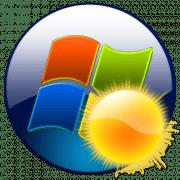 Гаджет погоды в Windows 7