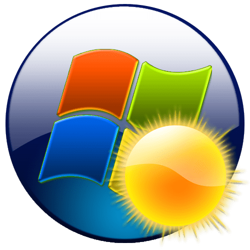 Гаджет погоды в Windows 7