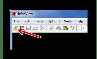 Открытие файла через значок в IrfanView