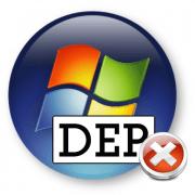 Как отключить функцию DEP в Windows 7