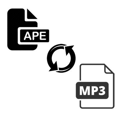Как конвертировать APE в MP3