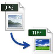 Как перевести из JPG формата в TIFF