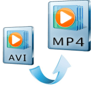 Как преобразовать avi в mp4