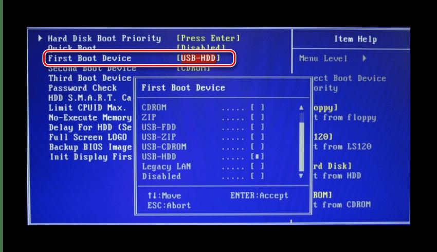 Запуск операционной системы с флеш-накопителя Windows 7