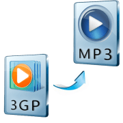 как конвертировать 3gp в mp3