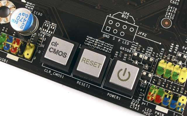 Кнопка сброса BIOS