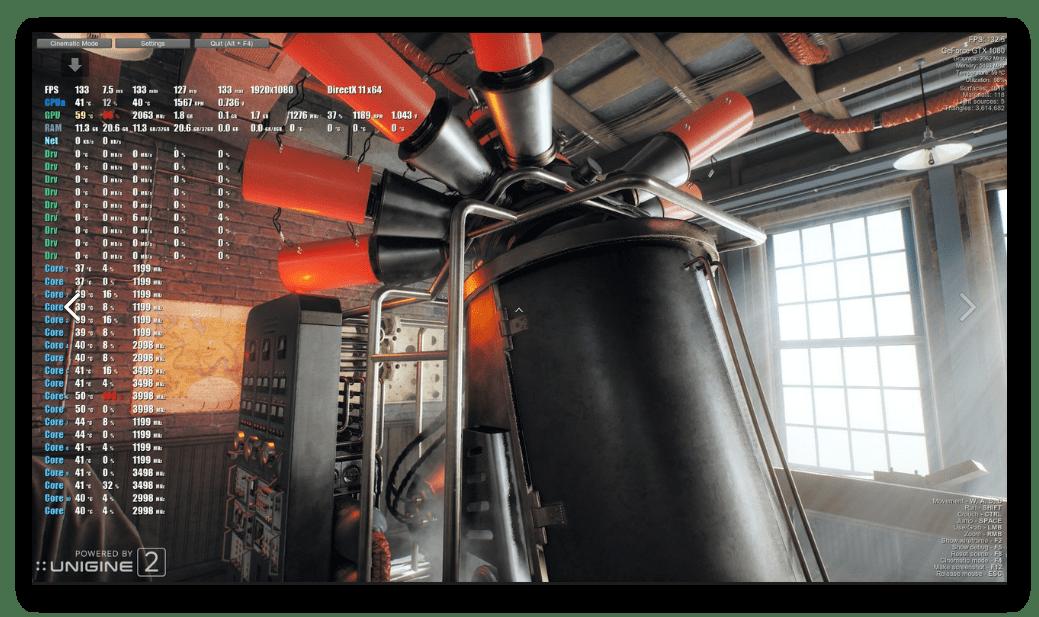 Датчики и сенсоры FPS Monitor