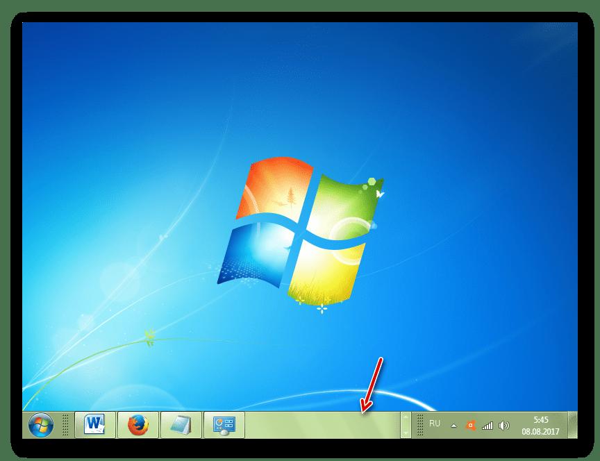 Изменение цвета Панели задач в Windows 7