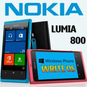 Прошивка Lumia 800