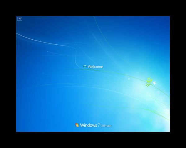 Загрузочный экран Windows 7