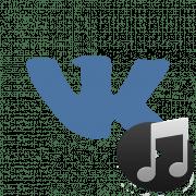 как установить песню статусом ВКонтакте