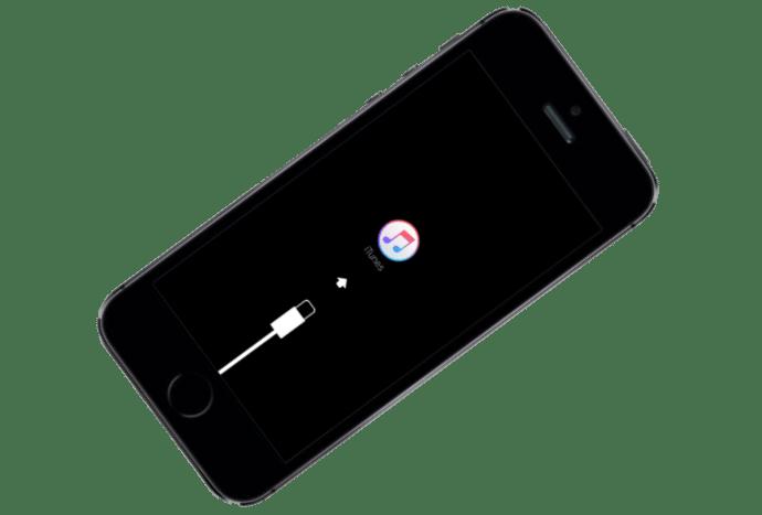Apple iPhone 5S прошивка в режиме Recovery Mode
