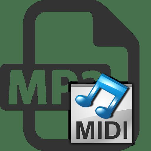 Как конвертировать mp3 в midi