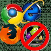 Вирус в браузере удалить