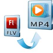 как конвертировать flv в mp4