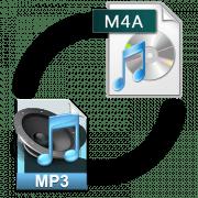 Конвертирование m4a в mp3 файл