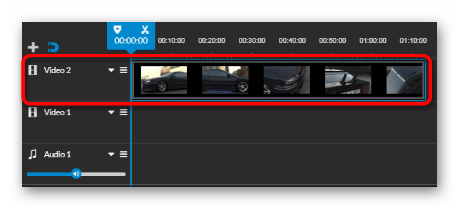 Видео и аудио дорожки Онлайн-сервис WeVideo
