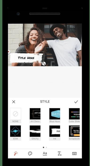 Редактирование видео на Android через программу Vlogit