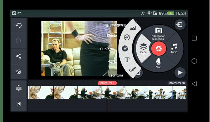 Редактирование видео на Android с помощью программы KineMaster