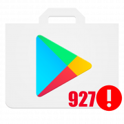 Код ошибки 927 в Play Маркет
