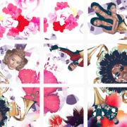 Логотип мозаики в Instagram