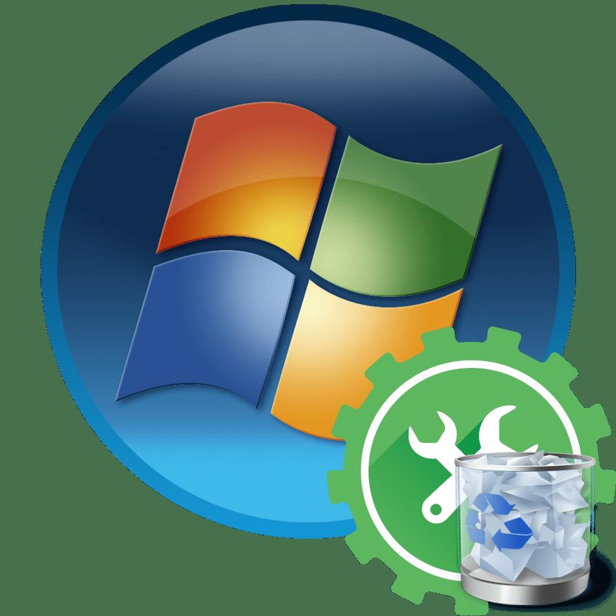Удаление службы в операционной системе в Windows 7