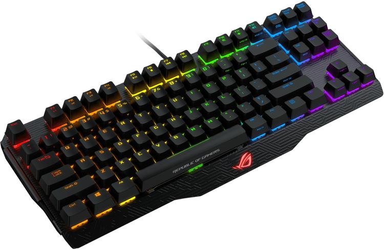 Пример игровой клавиатуры