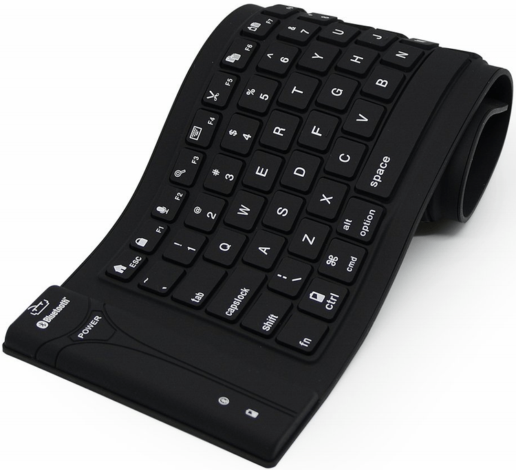 Пример резиновой клавиатуры