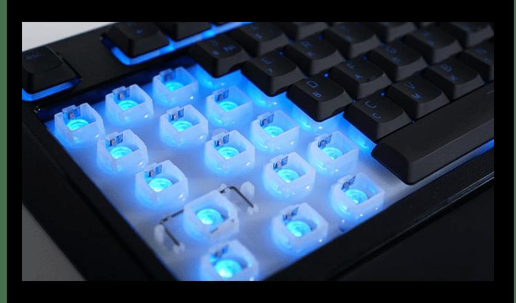 Принцип работы мембранной клавиатуры