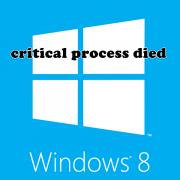 Как исправить ошибку critical process died в Windows 8