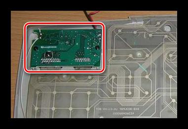 Электронный управляющий модуль в мембранной клавиатуре