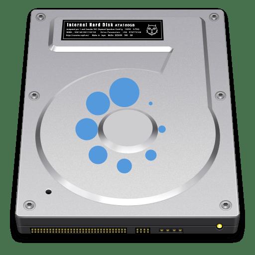 Установка внешнего жесткого диска
