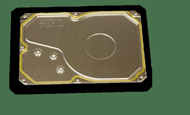 Крышка гермоблока HDD